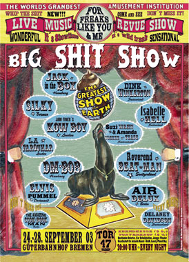 Plakat Big Shit Show